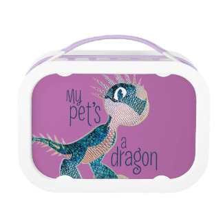 My Pet's A Dragon Lunch Box