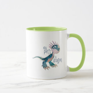 My Pet's A Dragon Mug