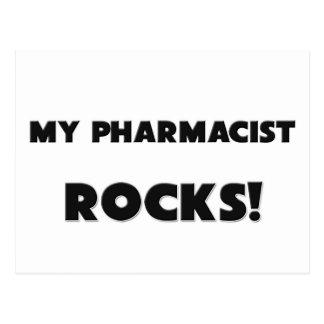 MY Pharmacist ROCKS! Postcard