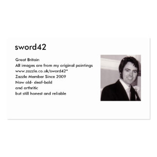 MY PHOTO, sword42, Great Britain, All images ar... Business Card