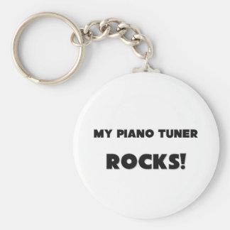 MY Piano Tuner ROCKS! Keychains