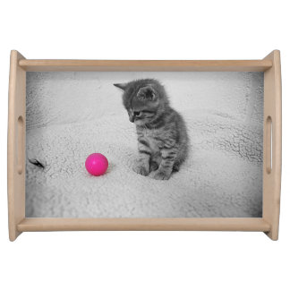 My Pink Ball Serving Tray