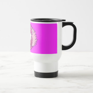 My Pink Team Stainless Steel Travel Mug