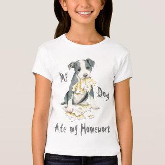 My Pit Bull Ate My Homework T-Shirt
