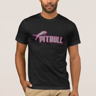My Pitbull gray & pink T-Shirt