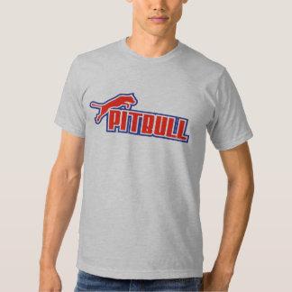 My Pitbull red white & blue T Shirts