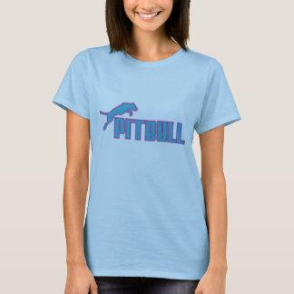 My Pitbull teal/purple T-Shirt