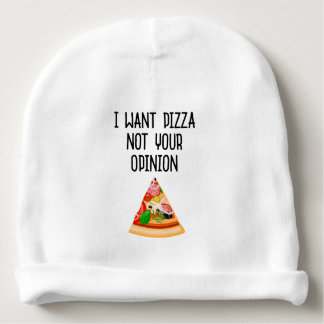 My pizza baby beanie