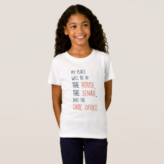 My Place in Government Girls T-shirt