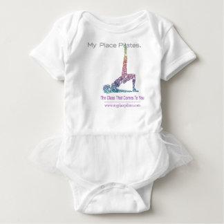 My Place Pilates Gear Baby Bodysuit