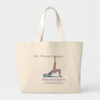 My Place Pilates Gear Large Tote Bag