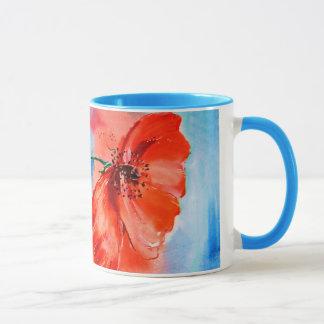 My Poppies in Bloom Mug