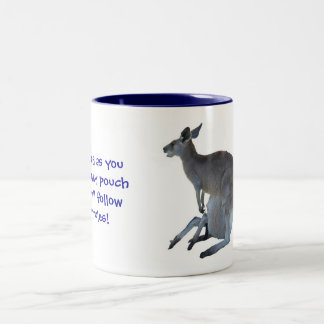 My Pouch My Rules Coffee Mugs