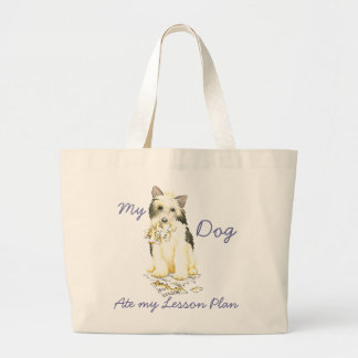My Powderpuff Ate My Lesson Plan Jumbo Tote Bag