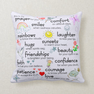 My Prayer For You Cushion