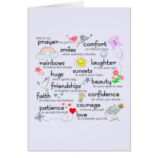 My Prayer For You Greeting Card