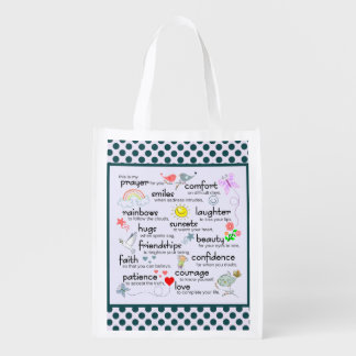 My Prayer For You Reusable Grocery Bag