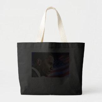 My President Barack Obama 2012 (flag) Tote Bags