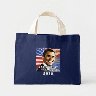 My President Barack Obama 2012 (flag) Tote Tote Bag