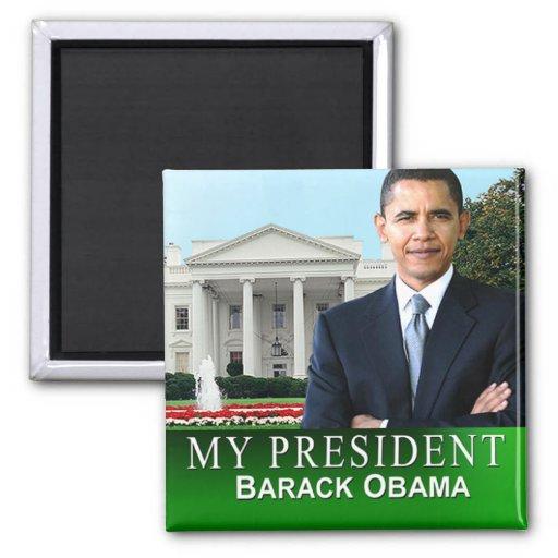 My President White House Magnet