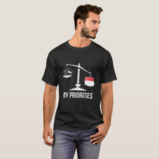My Priorities Singapore Tips the Scales Flag T-Shirt