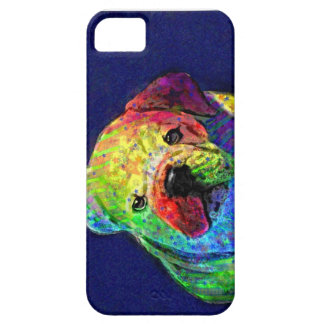 my psychedelic bulldog iPhone 5 cover