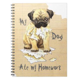 My Pug Ate My Homework Notebooks