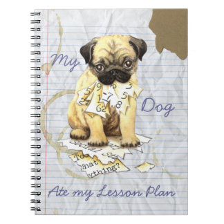 My Pug Ate My Lesson Plan Notebook