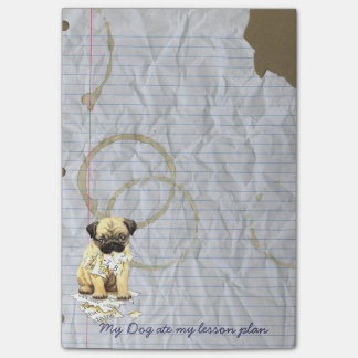 My Pug Ate my Lesson Plan Post-it Notes