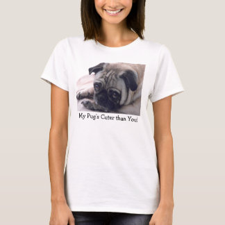 My Pug Womens shirt