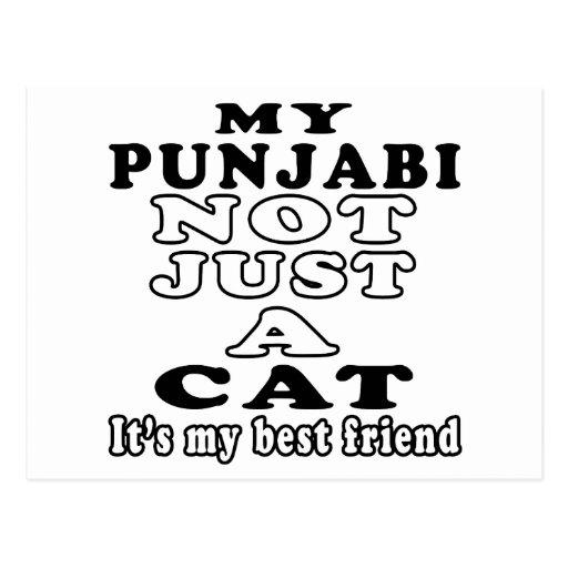 My Punjabi not just a cat it's my best friend Post Card