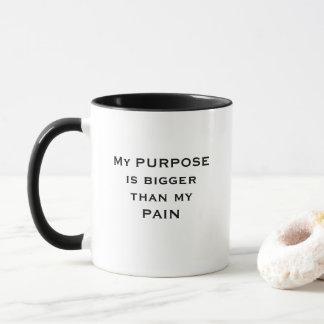 My Purpose is bigger than my Pain Mug