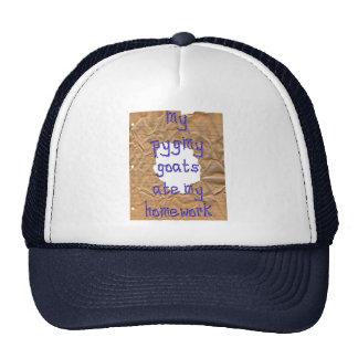 My Pygmy Goats Ate My Homework Hat