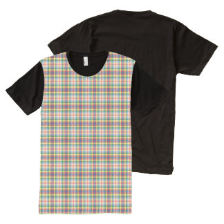 My Ragdoll ~ Andy's Plaid All-Over Print T-Shirt