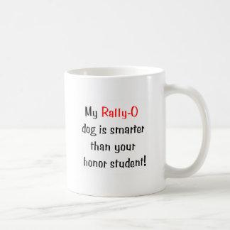 My Rally-O Dog is Smarter... Basic White Mug