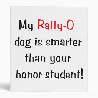 My Rally-O Dog is Smarter... Binder