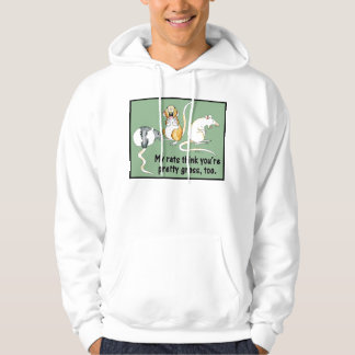 """My Rat Think You're Pretty Gross, Too"" Hoodie"