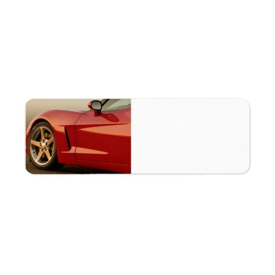 My Red Corvette