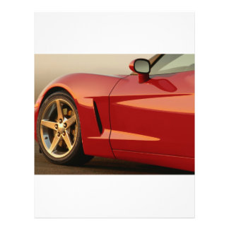 My Red Corvette 21.5 Cm X 28 Cm Flyer