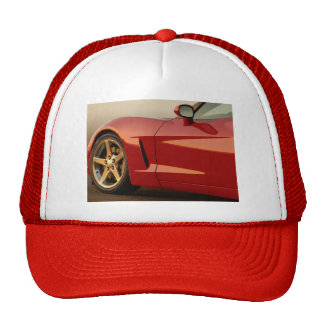 My Red Corvette Cap