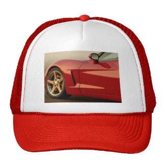 My Red Corvette Hats