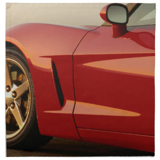 My Red Corvette Napkin