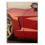 My Red Corvette Spiral Notebooks