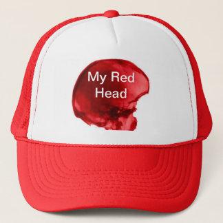 My Red Head Trucker Hat