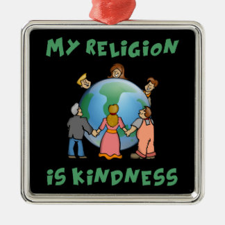 My Religion is Kindness Christmas Ornament