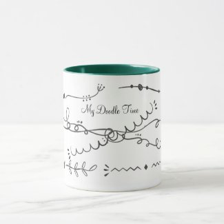 My Right Brain Doodle Time Mug