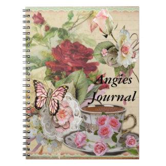 My Romantic Journal Note Books