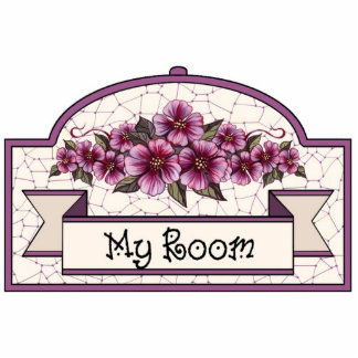 """My Room"" - Decorative Sign - 08 Standing Photo Sculpture"