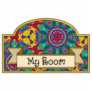 My Room - Decorative Sign Photo Cut Outs