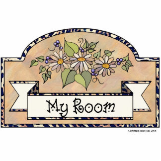 """My Room"" - Decorative Sign Photo Cut Out"